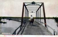 Nueces River Bridge, Cotulla, Texas early 1900s