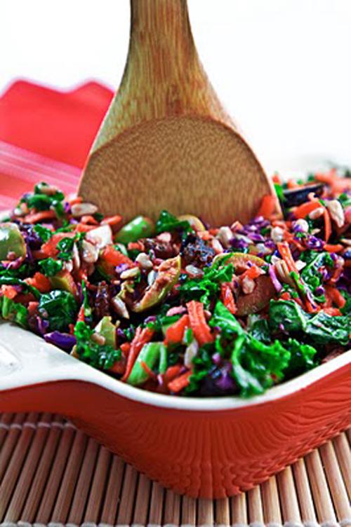 raw vegan salad recipes