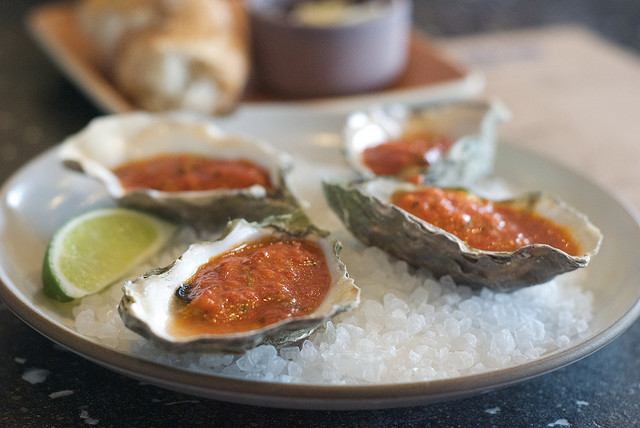 harissa baked oysters recipes