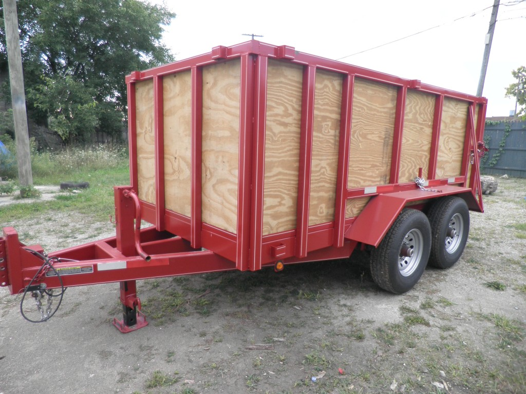 10 yard woodside Debris Trailer