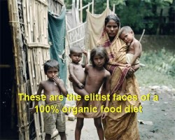 ...and yet organic foods are considered weird and factory food the norm