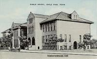 Public School, Eagle Pass, Texas 1910s
