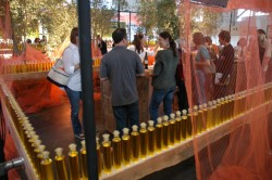 Creative use of olive oil at the Olive Oil Pavilion