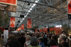 Throng at the Taste Pavilions