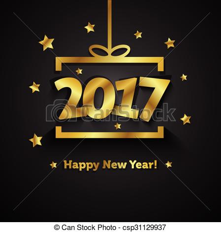 best clipart for new year 2017
