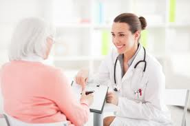 Senior Woman Getting Medicare PhysicalDo You Feel Fine?    All The More Reason as a Senior to Get a Physical Exam