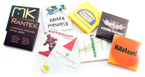 Mainoskondomi™ referenssit - yritykset