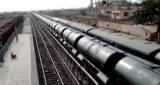 Video Of Water Train Arriving In Latur
