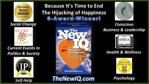 The 6 book awards The New IQ integrity book received