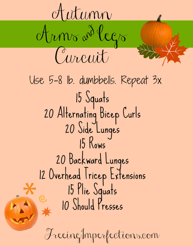 Autumn Arms & Legs Circuit