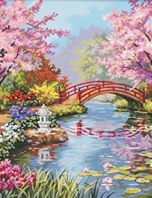 Dimensions-Needlecrafts-Paintworks-Paint-By-Number-Japanese-Garden-0