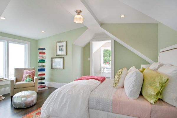Màu sắc sơn nhà tạo nên không gian ấm cúng 5