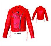 Ladies Hourglass M/C Jacket FIL103MNZ