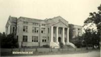 San Jacinto County Courthouse, Coldspring, Texas 1940s