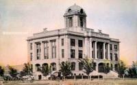 Scurry County Courthouse, Snyder, Texas early 1900s