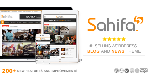 Sahifa v5.3.2 Responsive WordPress Theme