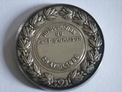 Médaille inauguration ville d'oraison en provence