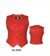 Ladies Red Vest