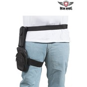 Premium Leather Thigh Bag With Gun Pocket