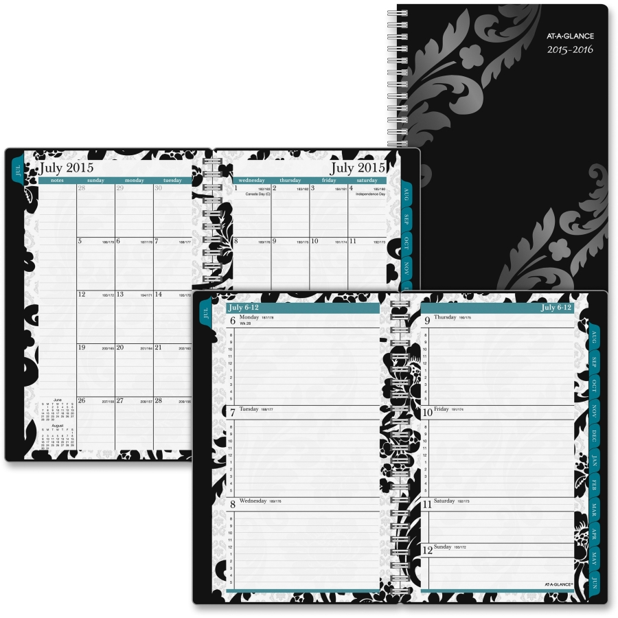 Madrid style organized planner