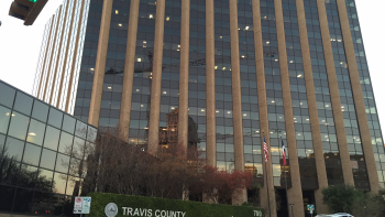 Travis County Commissioners Court building at 700 Lavaca (KXAN Photo/Tom Rapp)