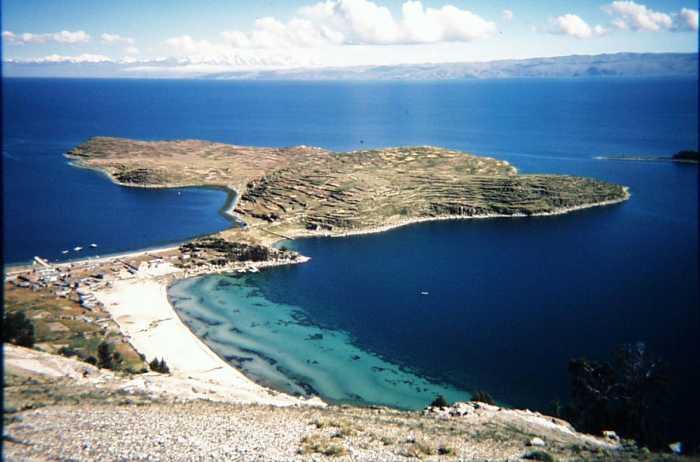 Соленые озера Анд