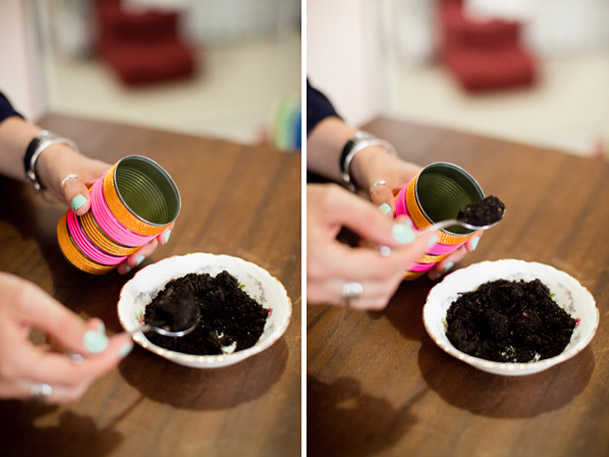 DIY Project: Cactus Place Cards & Favors - DIY cactus neon modern favors seating flag 7