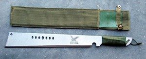 Heavy-Duty-CaneBrush-Cutter-Machete-Machette-with-sheath-0