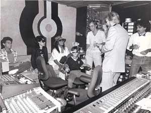 Steve Thompson with Yoko Ono