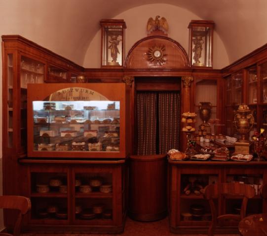 Café Ruszwurm in Budapest
