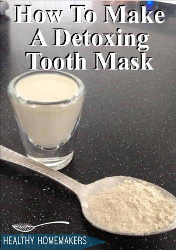how to make a tooth mask