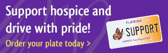 Order your hospice license plate today