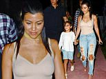 2 May 2016 - Miami Beach - America *** EXCLUSIVE ALLROUND PICTURES *** Kourtney arrived at famous Miami restaurant; Prime One Twelve around 8.15 pm accompanied by son Mason Disick. After spending spending two hours inside the restaurant in what appeared to be a mother/son intimate moment, Kourtney came out of the restaurant accompanied by her son and a mysterious male friend. The three of them left in a chauffeur driven car and headed strsight back to Kourtney's Miami Hotel. BYLINE MUST READ : XPOSUREPHOTOS.COM ***UK CLIENTS - PICTURES CONTAINING CHILDREN PLEASE PIXELATE FACE PRIOR TO PUBLICATION *** **UK CLIENTS MUST CALL PRIOR TO TV OR ONLINE USAGE PLEASE TELEPHONE  44 208 344 2007**