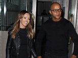 3 May 2016. Katie Piper and Richard Sutton leaving a private screening of her new Channel 4 show - Never Seer A Doctor! at High Road House in Chiswick West London. Credit: GoffPhotos.com   Ref: KGC-158