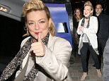 SHERIDAN SMITH SEEN LEAVING THE SAVOY THEATRE IN LONDON AFTER PERFORMING FUNNY GIRLS. MONDAY 2ND MAY 2016 - MAGICMOMENTSUK - 07753 30 30 77