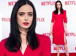 eURN: AD*204972973  Headline: Actress Krysten Ritter attends the Netfl Caption: Actress Krysten Ritter attends the Netflix's Marvel's Jessica Jones Screening and Q&A at  Paramount Studios, in Los Angeles, California, on May 3, 2016. / AFP PHOTO / VALERIE MACONVALERIE MACON/AFP/Getty Images Photographer: VALERIE MACON  Loaded on 04/05/2016 at 04:33 Copyright: AFP Provider: AFP/Getty Images  Properties: RGB JPEG Image (38790K 921K 42.1:1) 3043w x 4351h at 96 x 96 dpi  Routing: DM News : Wires (AFP), GeneralFeed (Miscellaneous) DM Showbiz : SHOWBIZ (Miscellaneous) DM Online : Online Previews (Miscellaneous), CMS Out (Miscellaneous)  Parking: