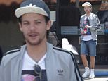 *EXCLUSIVE* Malibu, CA - Singer, Louis Tomlinson, seems to settling into his dad role quite nicely, being spotted wearing the dreadful 'dad shorts' in Malibu.  He was picking up a couple of Subway sandwiches with a couple of friends after having a wild  weekend in Las Vegas. AKM-GSI        May 3, 2016 To License These Photos, Please Contact : Steve Ginsburg (310) 505-8447 (323) 423-9397 steve@akmgsi.com sales@akmgsi.com or Maria Buda (917) 242-1505 mbuda@akmgsi.com ginsburgspalyinc@gmail.com