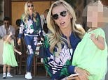 Beverly Hills, CA - Petra Ecclestone takes her daughter Lavinia Stunt to lunch at Il Pastaio. The mother daughter duo looks ready for spring with Lavinia wearing a lime green dress and Petra wearing a matching floral print Adidas track suit.\n  \nAKM-GSI       May 2, 2016\nTo License These Photos, Please Contact :\nSteve Ginsburg\n(310) 505-8447\n(323) 423-9397\nsteve@akmgsi.com\nsales@akmgsi.com\nor\nMaria Buda\n(917) 242-1505\nmbuda@akmgsi.com\nginsburgspalyinc@gmail.com