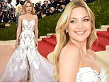"""NEW YORK, NY - MAY 02:  Kate Hudson attends the """"Manus x Machina: Fashion In An Age Of Technology"""" Costume Institute Gala at Metropolitan Museum of Art on May 2, 2016 in New York City.  (Photo by Dimitrios Kambouris/Getty Images)"""