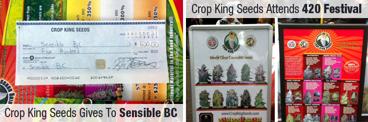 Crop King Gives