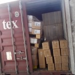 CARGO INSPECTION INSIDE THE CONTAINER