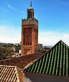Almoravids: The Great Mosque of Tlemcen, Algeria.