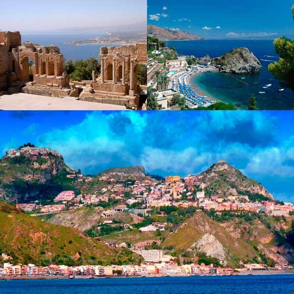 Джардини-Наксос достопримечательности, Сицилия, Италия