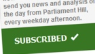 Sign up for CBC Politics daily newsletter