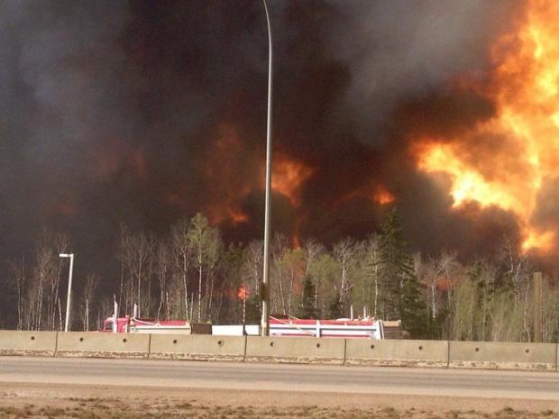 Alta Wildfire Evacuation