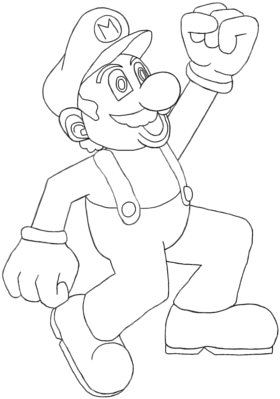Super Mario Drawing