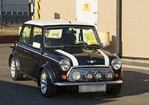 Photo of Mini Cooper that was illegally imported