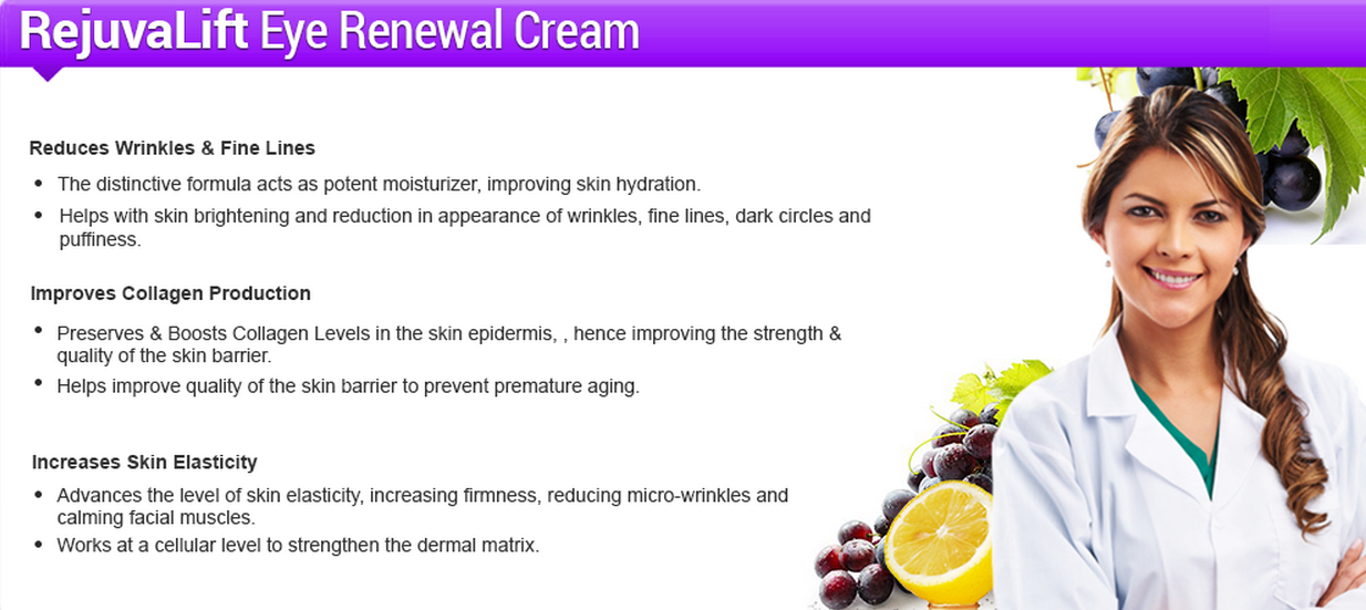 rejuvalift eye wrinkle cream ingredients