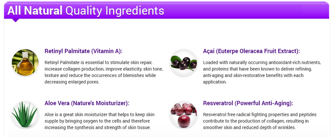 rejuvalift ingredients