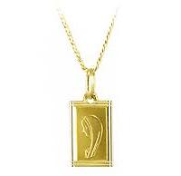 Złoty łańuszek na prezent